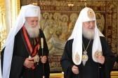 Предстоятели Русской и Болгарской церквей помолились у мощей святой Матроны