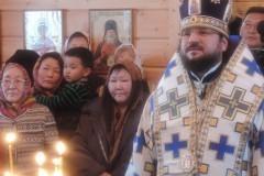 В долганском поселке Якутии впервые совершено таинство крещения