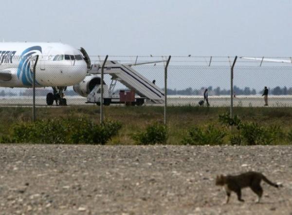Спецслужбы задержали захватчика самолета EgyptAir