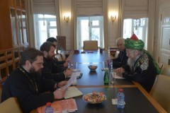 Митрополит Иларион обсудил с муфтием Таджуддином вопросы образования