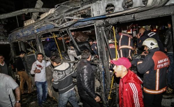 Теракт в Анкаре унес жизни 34 человек