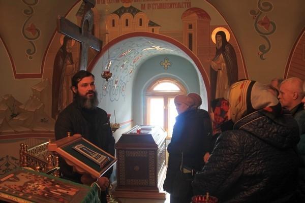 Рассказ о святынях обители