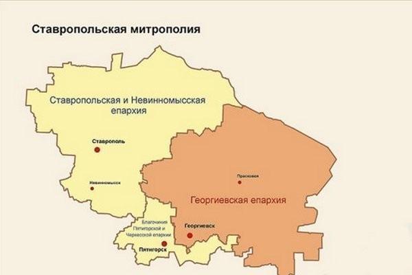 Храмам Ставрополья рекомендовано усилить меры безопасности