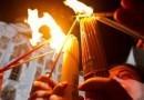 Благодатный огонь сошел в храме Воскресения Христова в Иерусалиме