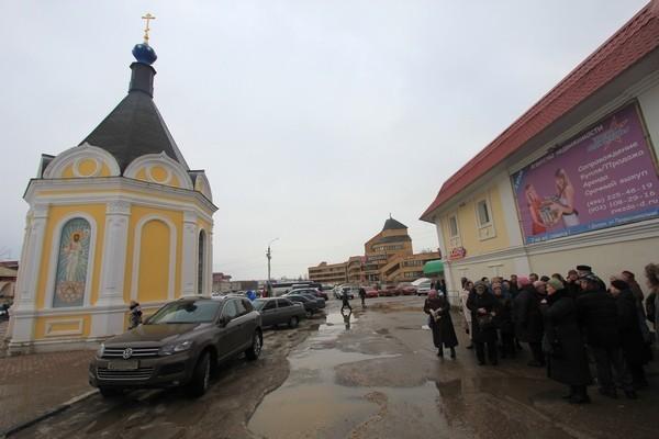 В центре Дмитрова