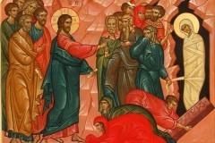 Церковь празднует Лазареву субботу