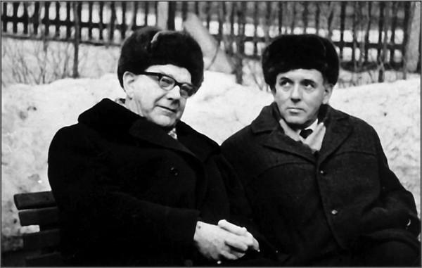 Михаил Сергеевич Рязанский (1909 – 1987) и Георгий Николаевич Бабакин