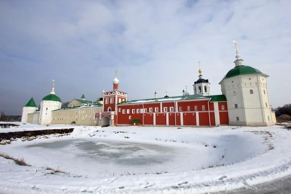 Николо-Пешношский монастырь. Общий вид