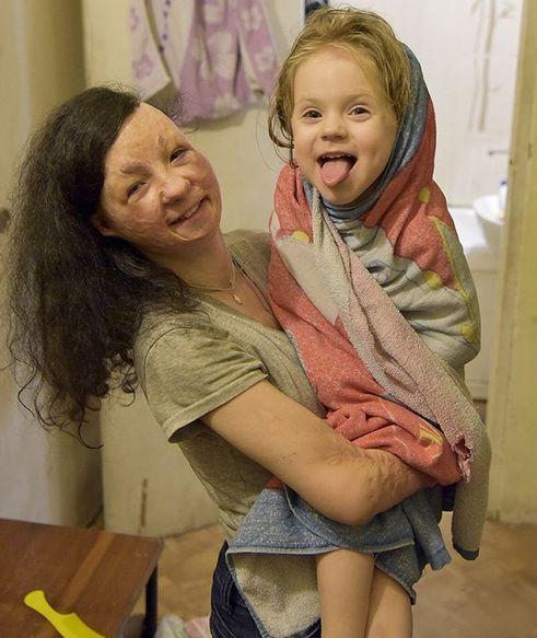 Алена и Кристина - банный день