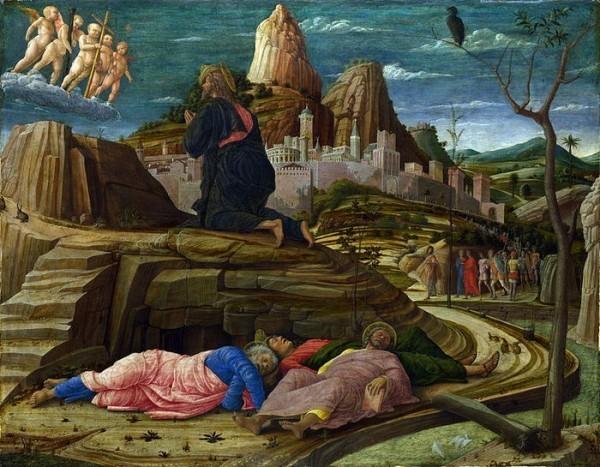 Андреа Мантенья. Моление о чаше.ок.1455.