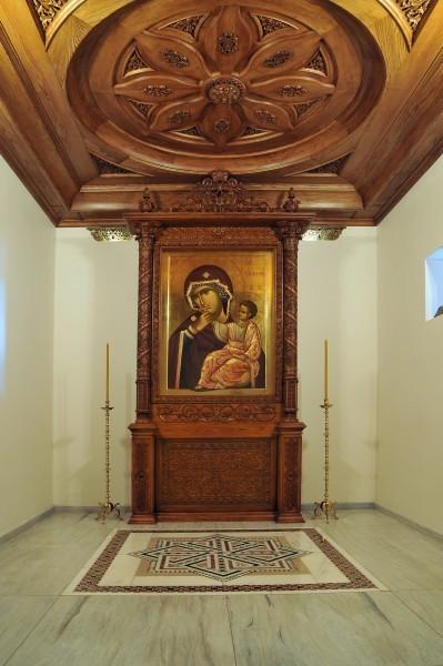 Икона Божьей Матери «Отрада или Утешение» – список, хранящийся в одноименном женском монастыре на Киевщине