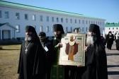 В Александро-Свирский монастырь возвращена чудотворная икона