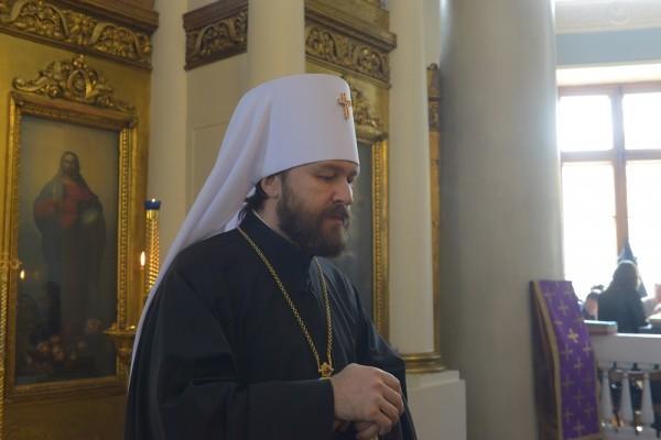Митрополит Иларион: Сознательный отказ от христианских ценностей ставит Европу перед чертой гибели