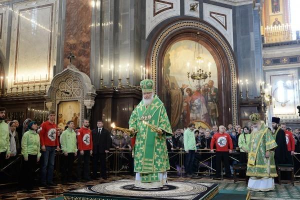 Патриаршие служения пройдут в Храме Христа Спасителя в Москве
