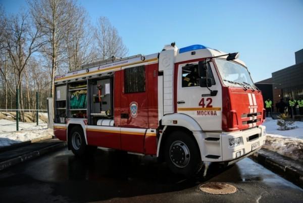 139 человек эвакуированы в ходе пожара в госпитале Бурденко