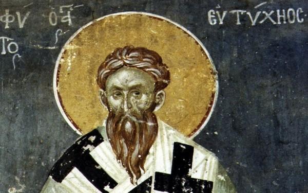 Церковь чтит память святителя Евтихия, архиепископа Константинопольского