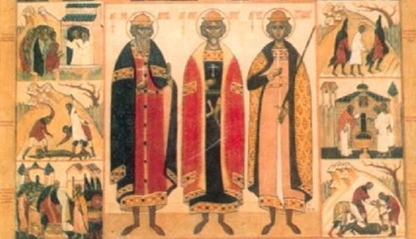 Церковь чтит память святых мучеников Антония, Иоанна и Евстафия