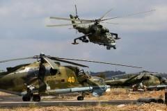 Российский вертолет Ми-28Н упал в Сирии