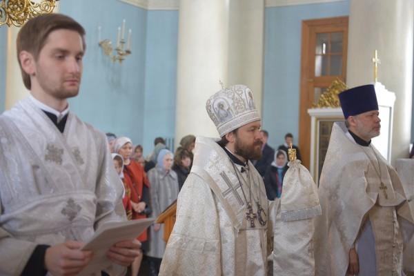 В Москве прошел чин присоединения к Православной Церкви людей, временно отпавших от нее