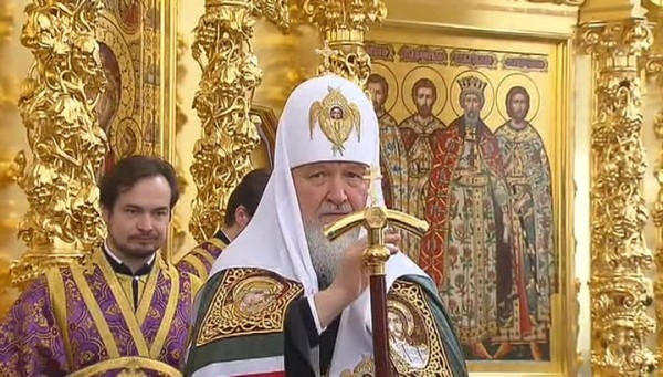 На западе Москвы Патриарх Кирилл освятил храм при Академии ФСБ