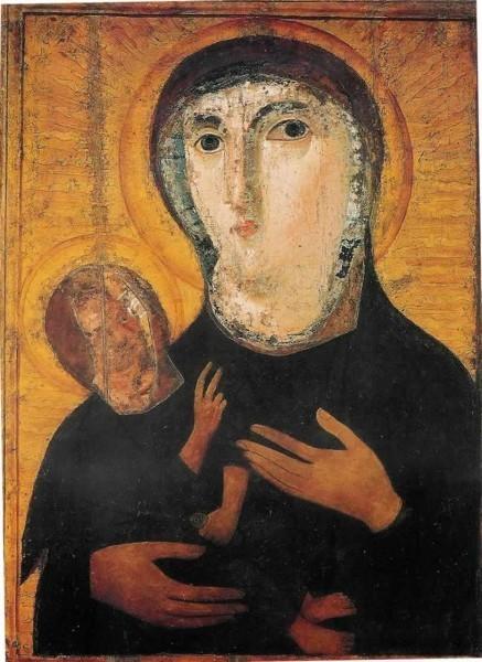 Икона из церкви Санта Мария Нова