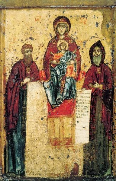 Икона Богоматери Свенской-Печерской