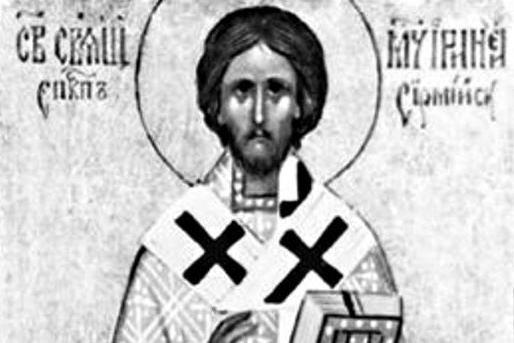 Церковь чтит память священномученика Иринея Сремского