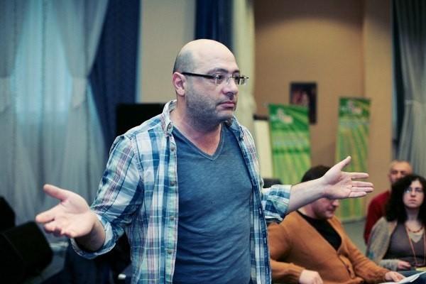 Дима Зицер. Фото из сообщества «Лимуд Санкт-Петербург» ВКонтакте