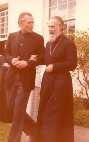 Митрополит Антоний и отец Алексий Фоогд