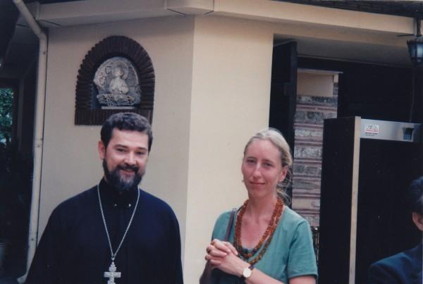 Отец Сергий и Алена