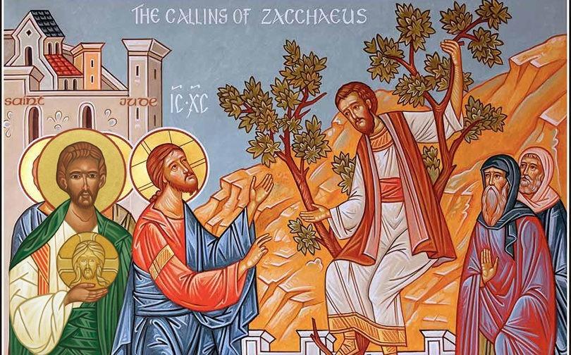 Евангельские воры на деревьях: Иуда и Закхей