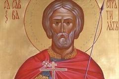 Церковь чтит память мученика Саввы Стратилата