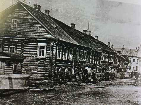 Кельи, где жили монахини, сохранились только на архивных фотографиях.