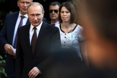 Президент России и премьер-министр Греции открыли в Афинах выставку иконы Андрея Рублева