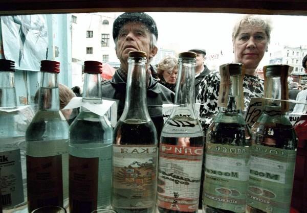 В России почти на треть снизилось потребление алкоголя