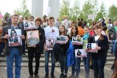 Участники «Бессмертного полка» в Нижнекамске несли портреты священников-ветеранов