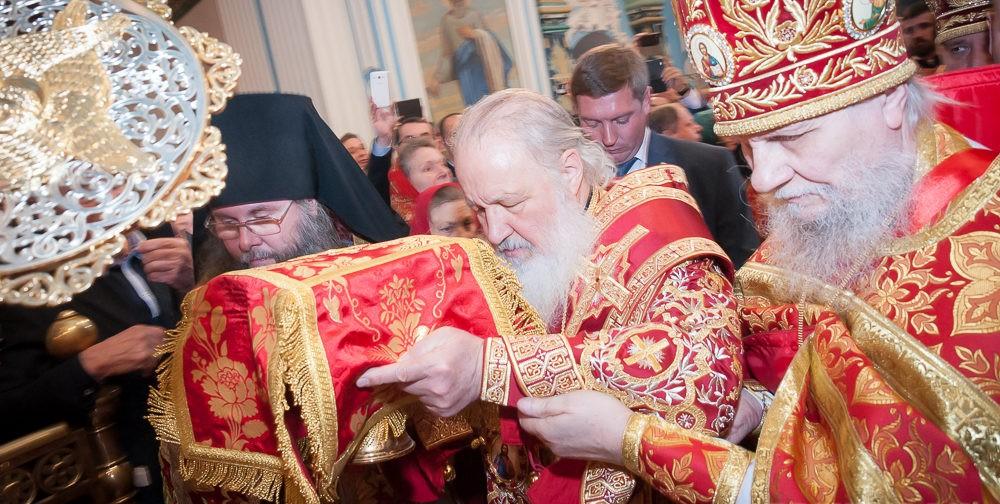 Воскресенский собор Ново-Иерусалимского монастыря — восстановлен и освящен! (фото)