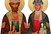 Церковь чтит память святого благоверного великого князя Димитрия Донского и великой княгини Евдокии
