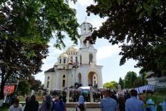Предстоятель Русской Церкви освятил собор святой равноапостольной Марии Магдалины в Нальчике