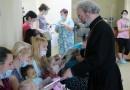 Протоиерей Александр Ильяшенко поздравил с Пасхой пациентов центра трансплантации им. Шумакова