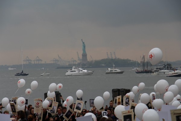 День Победы в Нью-Йорке (фото)