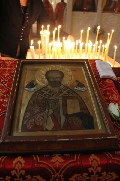 Литургия праздника Святителя Николая Чудотворца, 20 декабря 2015