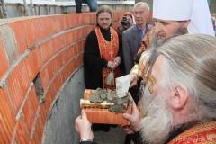 В Архангельске строят Морской собор на месте взорванного в советские годы