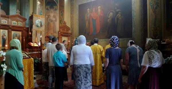 Молитва перед образом Явления Божией Матери преподобному Сергию
