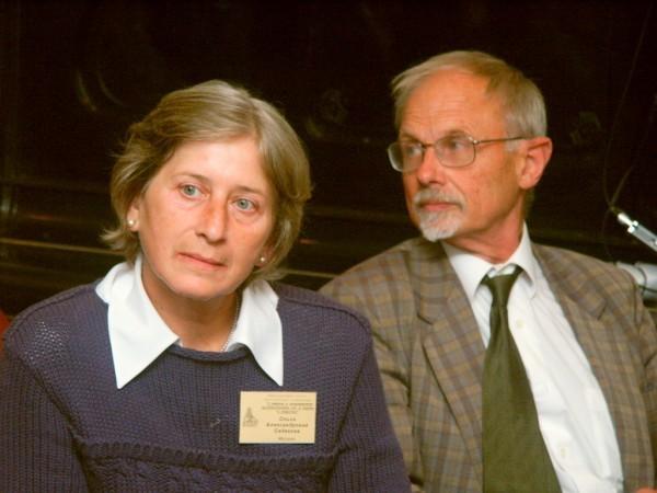 Ольга Седакова и Никита Струве. Фото с сайта www.ogkochetkov.ru
