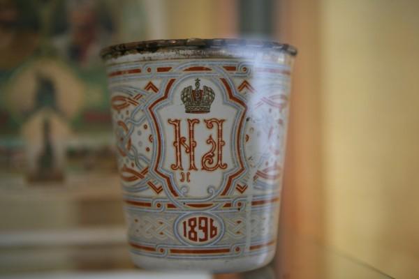 Памятная коронационная кружка, «Кубок скорбей» Фото: azbyka.ru