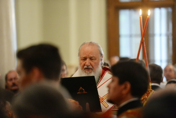 Патриарх Кирилл: Люди с сектантским мировоззрением призывают Церковь уйти в полную изоляцию