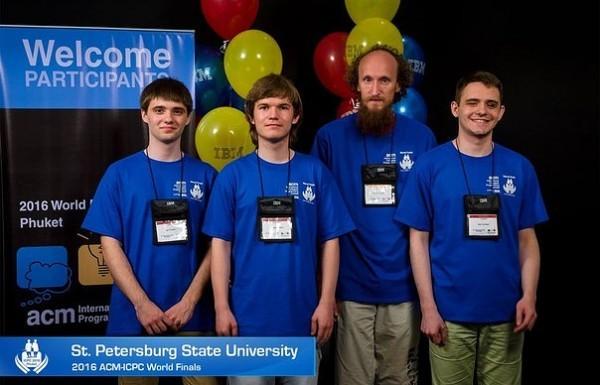 Студенты СПбГУ выиграли чемпионат мира по программированию
