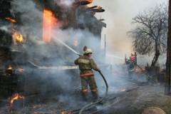 Житель Новосибирской области вытащил из горящего дома пятерых детей