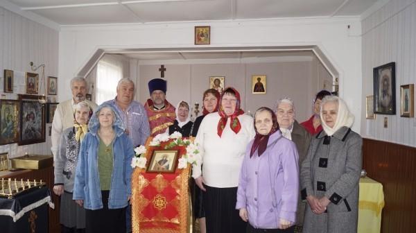Престольный праздник в поселке Зареченск